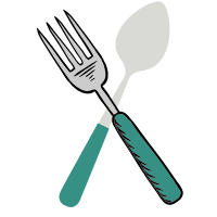 Polonice, linguri și clește de bucătărie