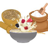 Cereale, paste, făină, conserve