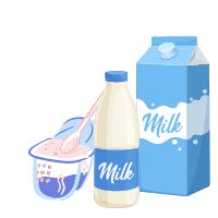 Produse lactate pentru consum