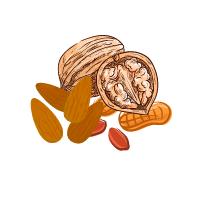 Nuci, semințe, fructe uscate