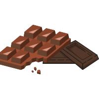 Decorațiuni din ciocolată, marshmallow