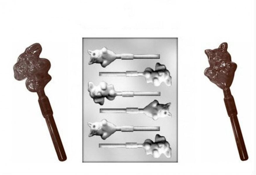Forma pentru ciocolata HEARTS LOLLIPOPS 90-1204 MARTE