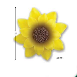 Decoratii de zahar Floarea soarelui 5701 DEK