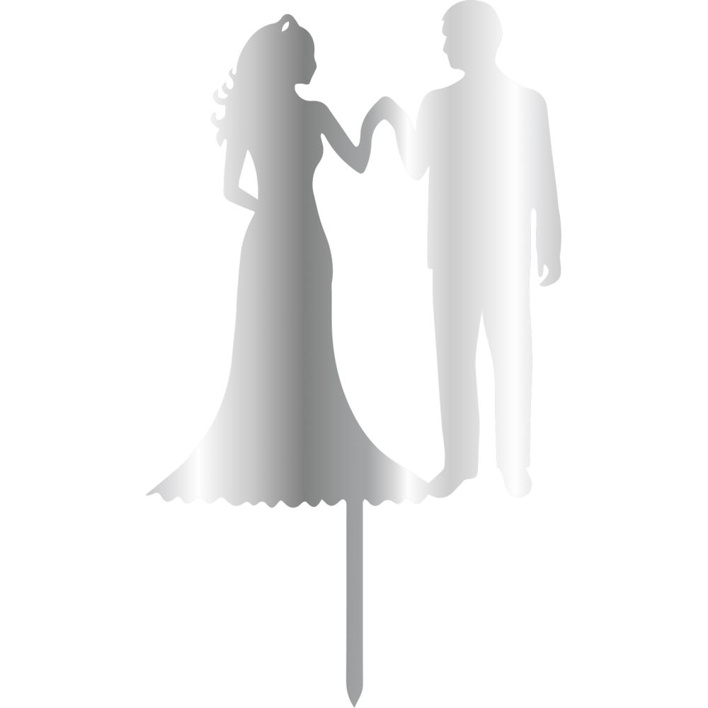 Topper - Bride&Groom 110x200 mm 14431 CSL