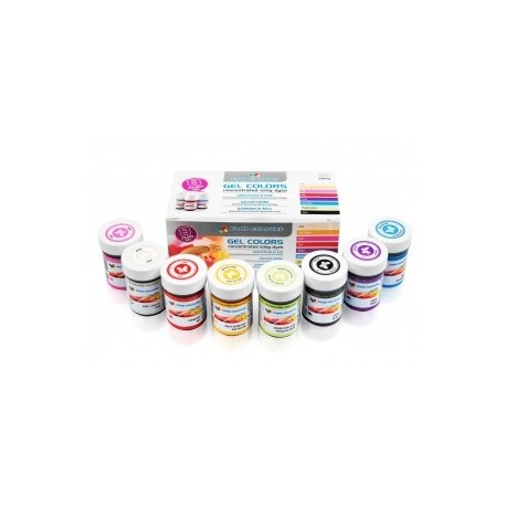 Set de coloranti gel alimentari  WSG-8-SET FC