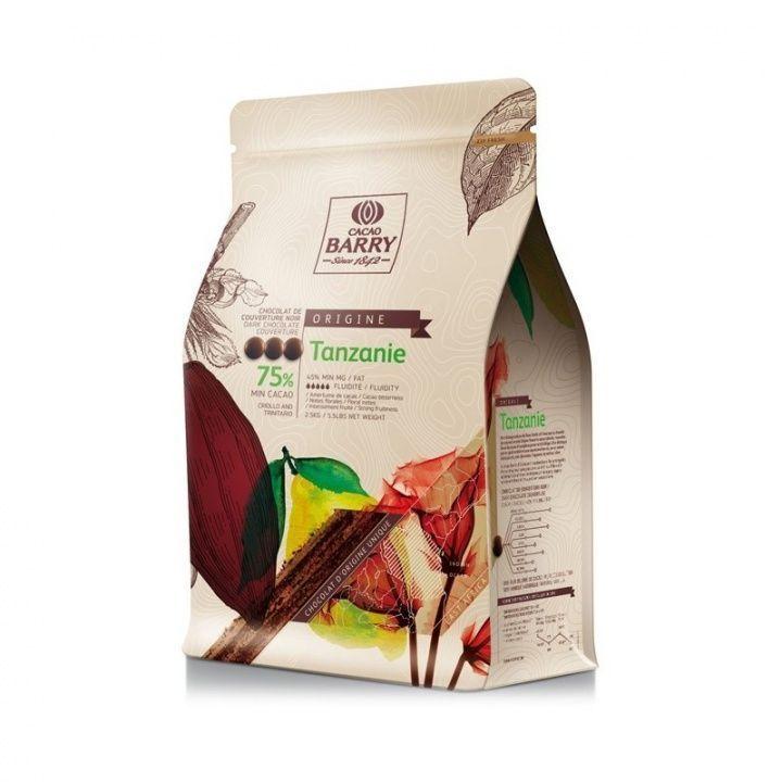 Ciocolata neagra TANZANIA 1 kg CHD-Q75TAZ-E4-U70