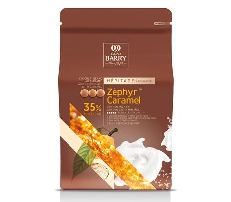 Ciocolata cu aroma de caramel ZEPHYR   250 gr. GPR