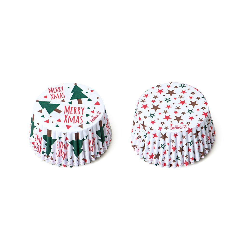 Forme pentru copt 36 Christmas TREE & STARS 50x32mm 0339872 DER
