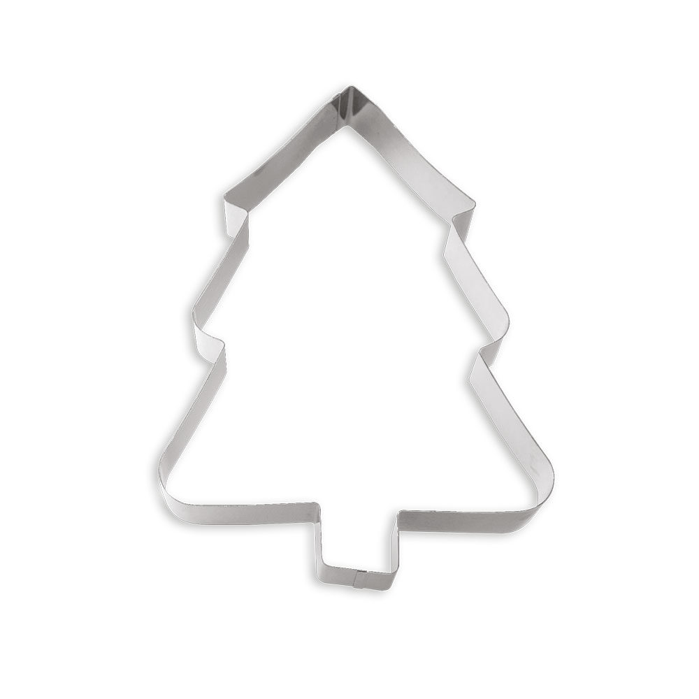 STAINLESS STEEL SHAPE XSTMAS TREE 28cm 0256103 DER