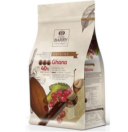 Ciocolata cu lapte GHANA 2,5 kg CHM-P40GHA-E4-U70
