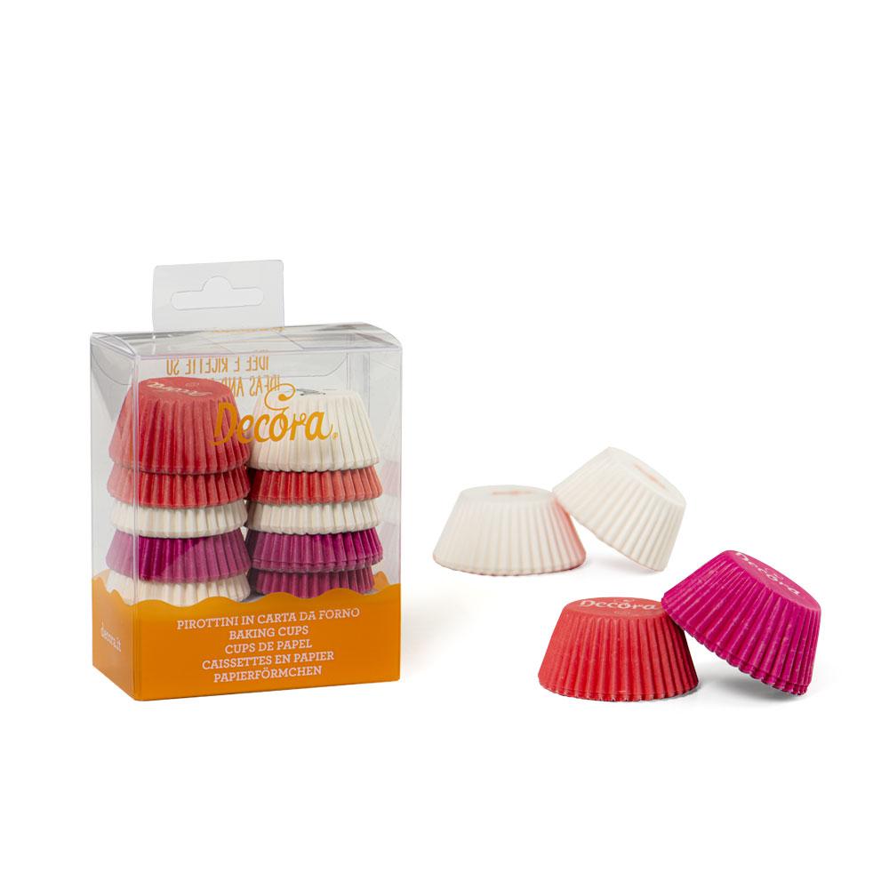 Chese white/roz/fucsia mini muffin 200 buc 0339749 DER