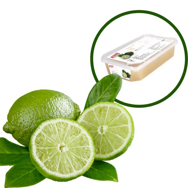 Piure de Lime, 1kg, Sicoly