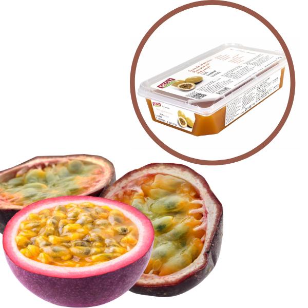 Piure de Fructul Pasiunii, 1kg, Sicoly