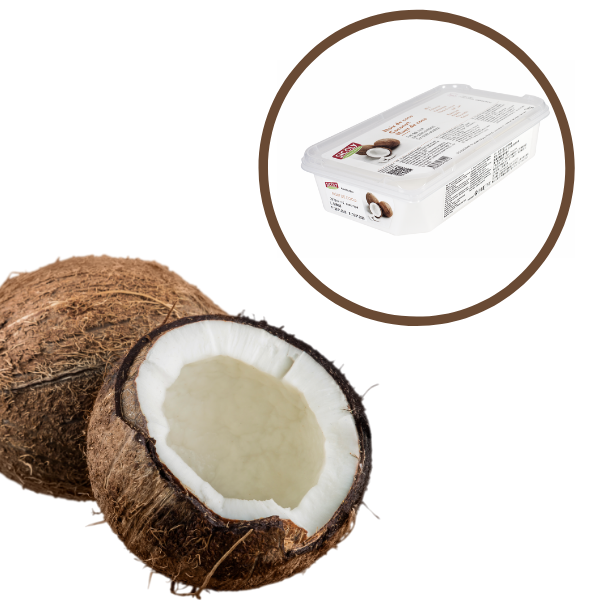Piure de Cocos congelat, 1kg, Sicoly