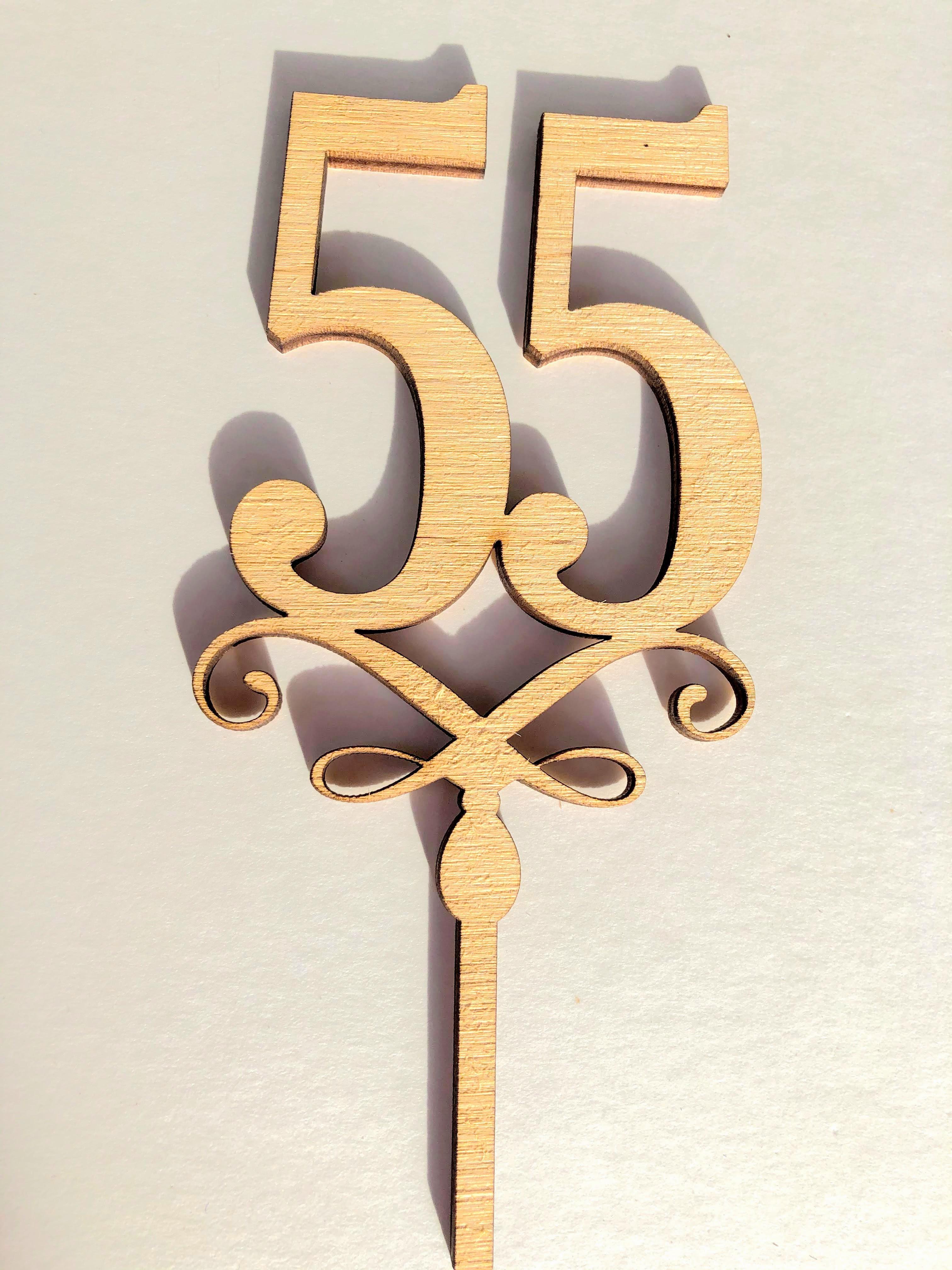 """Topere cu cifre """"55"""" SGM"""