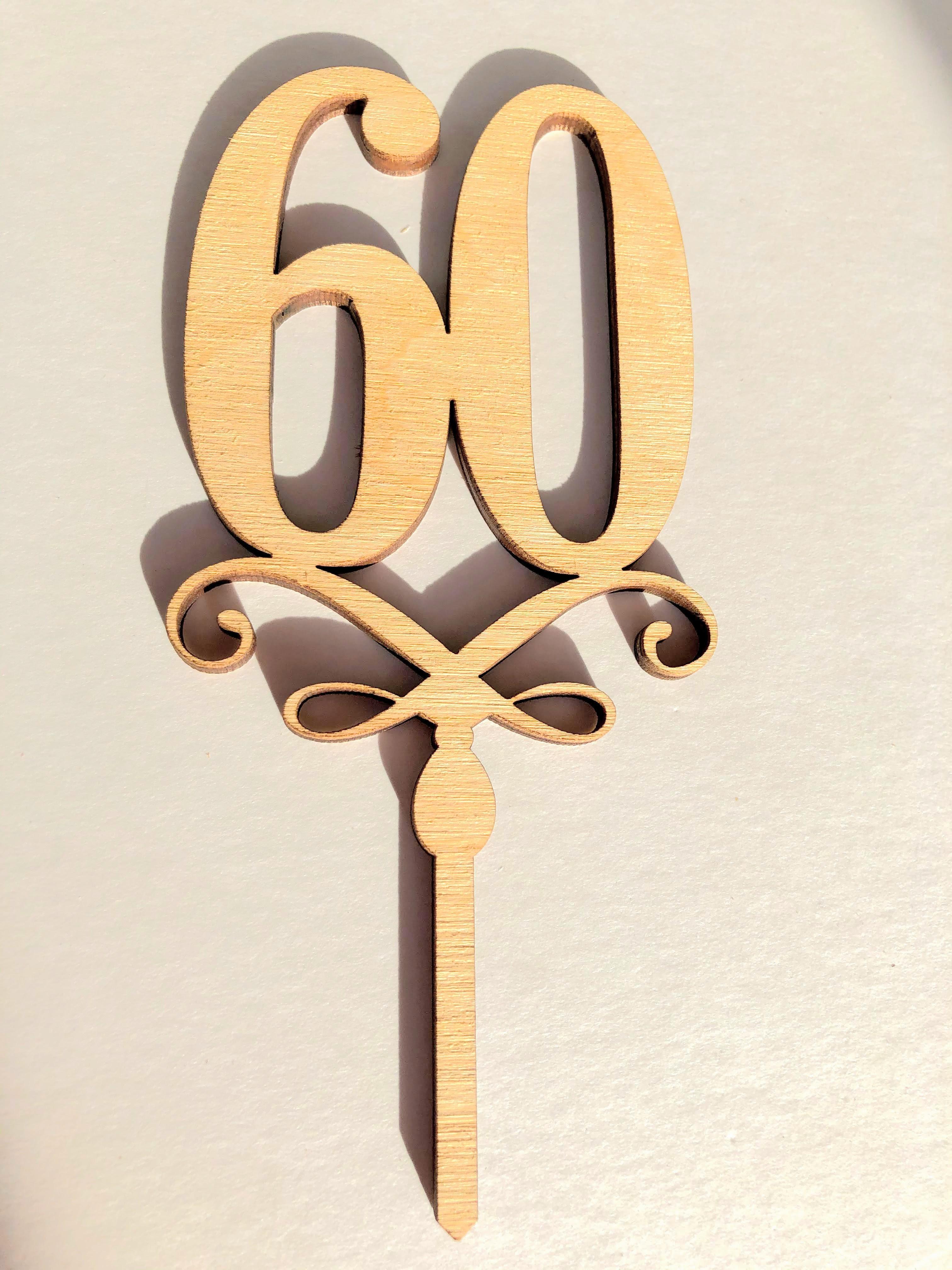 """Topere cu cifre """"60"""" SGM"""