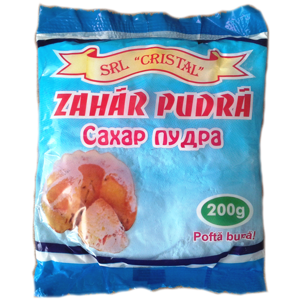 Zahar pudra CRISTAL 200g ALM