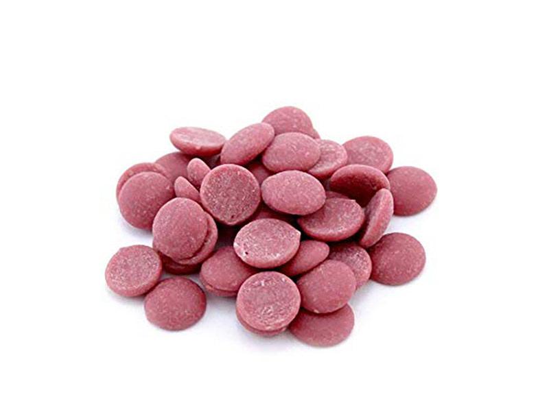 Pastile din ciocolata Ruby 250 gr. GPR