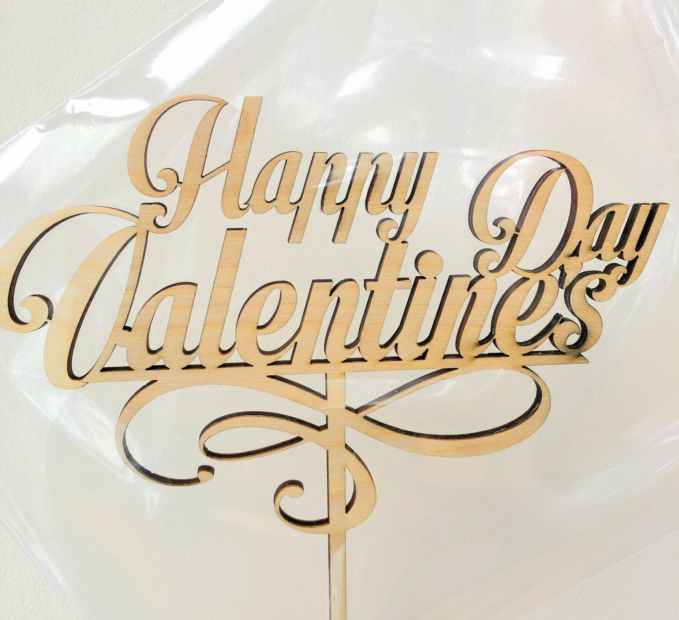 Topere din placaj Valentine's day SGM