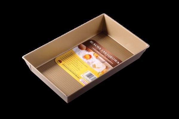 "Tava de copt ""non-stick"" 390x235x70 mm chocolate 990-42/14 SNB"