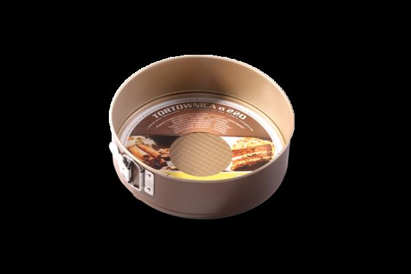 "Tava de copt  220 mm ""non-stick"" chocolate 990-101/14 SNB"