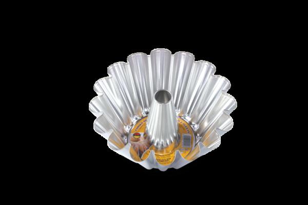 Tava de copt rotunda 230 mm cu tub 162-24 SNB