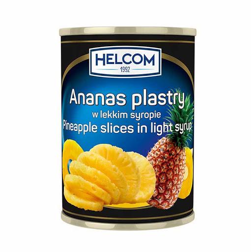 Bucati de ananas in sirop 580 ml 24 borcane/cutia Helcom GT