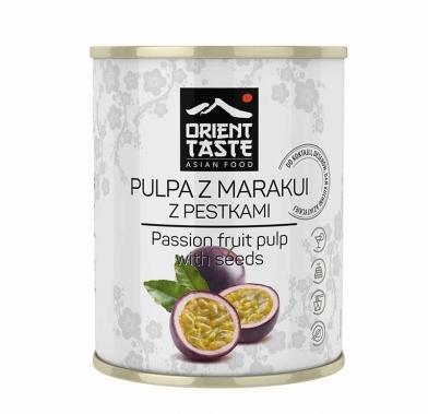 Pulpa din fructul pasiunii fara seminte 850 ml ORIENT TASTE GT