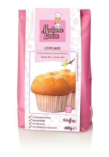 Premix pentru cupcakes cu vanilie 400 g ML4005-6 MADAM
