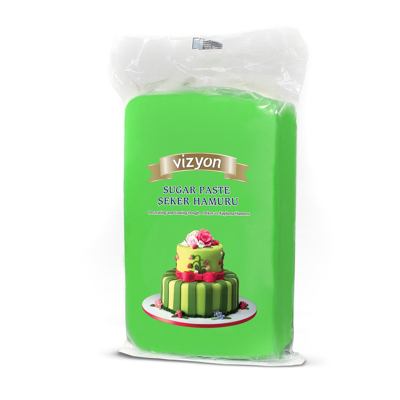 Vizyon - Icing verde (1 kg x12 caldari)
