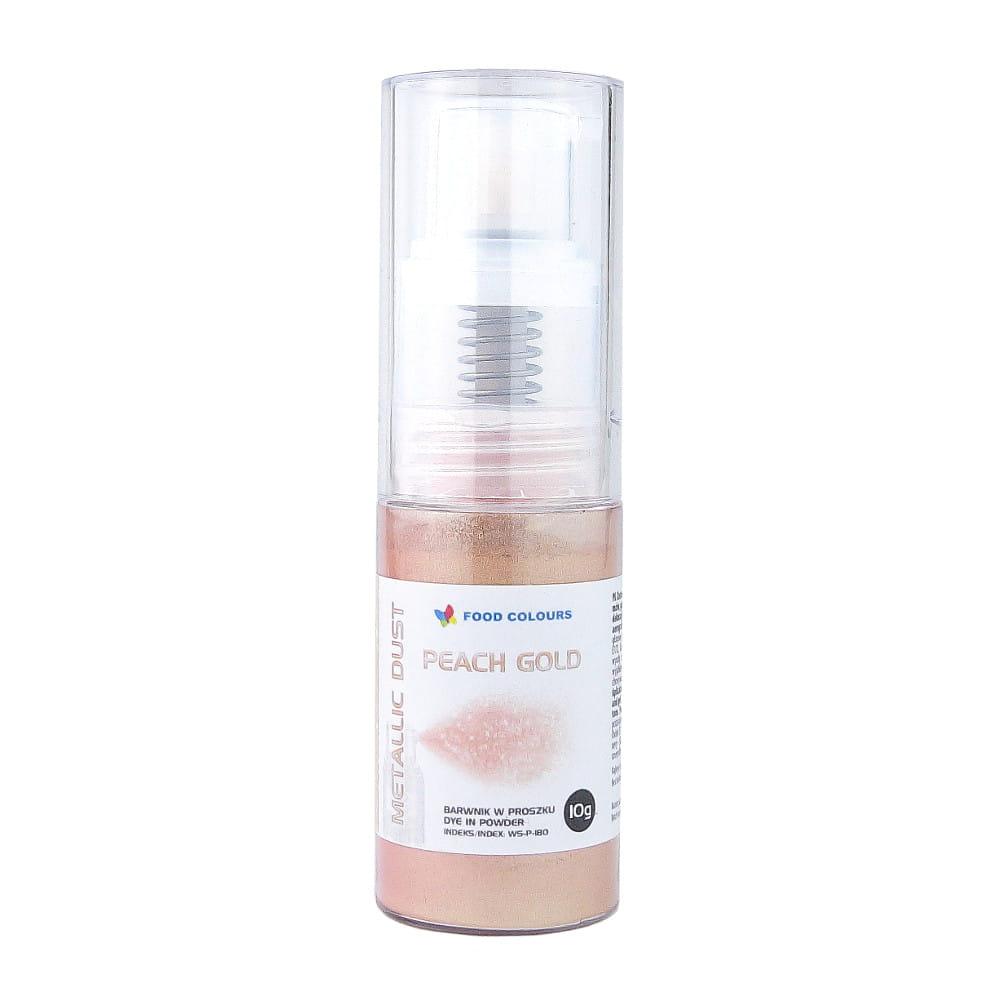 Colorant spray metalic alimentar pentru pompa AUR 10g  WS-P-180 FC