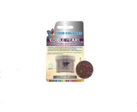 Colorant pudra perlat solubil – culoare  scortisoara 4g P031  FC