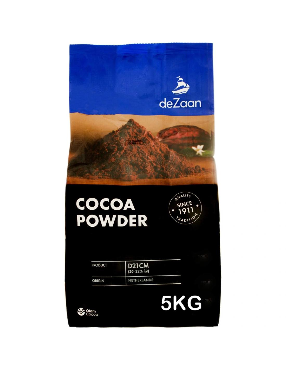 Cacao praf  20-22% 5 KG Dezaan