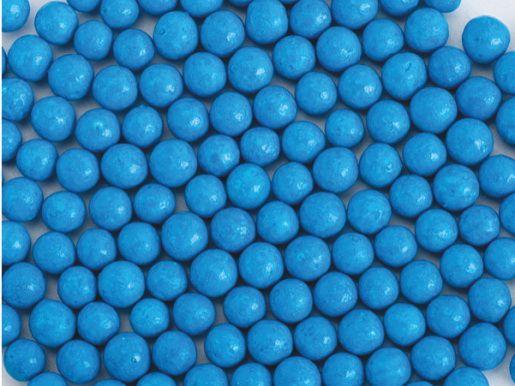 Perle zahar albastru lucios d5 90g 70562 UKR