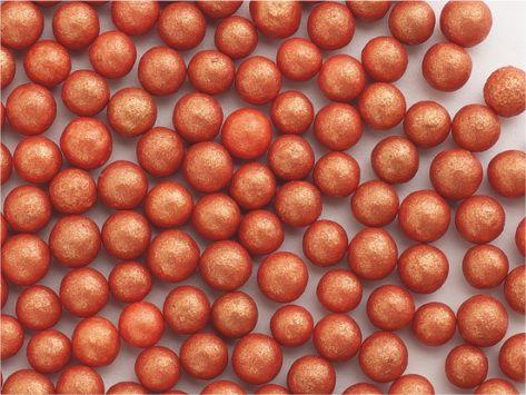 Perle  zahar bronz sidefat d5 90g 71711 UKR