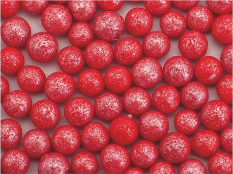 Perle zahar rosu sidefat d5 90g 71706 UKR