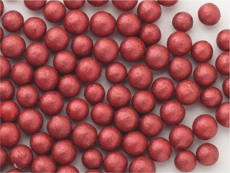 Perle zahar rosu chihlimbar sidefat d5 90g 71718 UKR