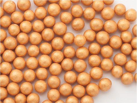 Perle zahar auriu sidefat d5 90g 71708 UKR