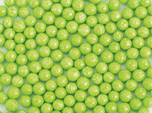 Perle zahar verde deschis lucios d5 90g 70559 UKR