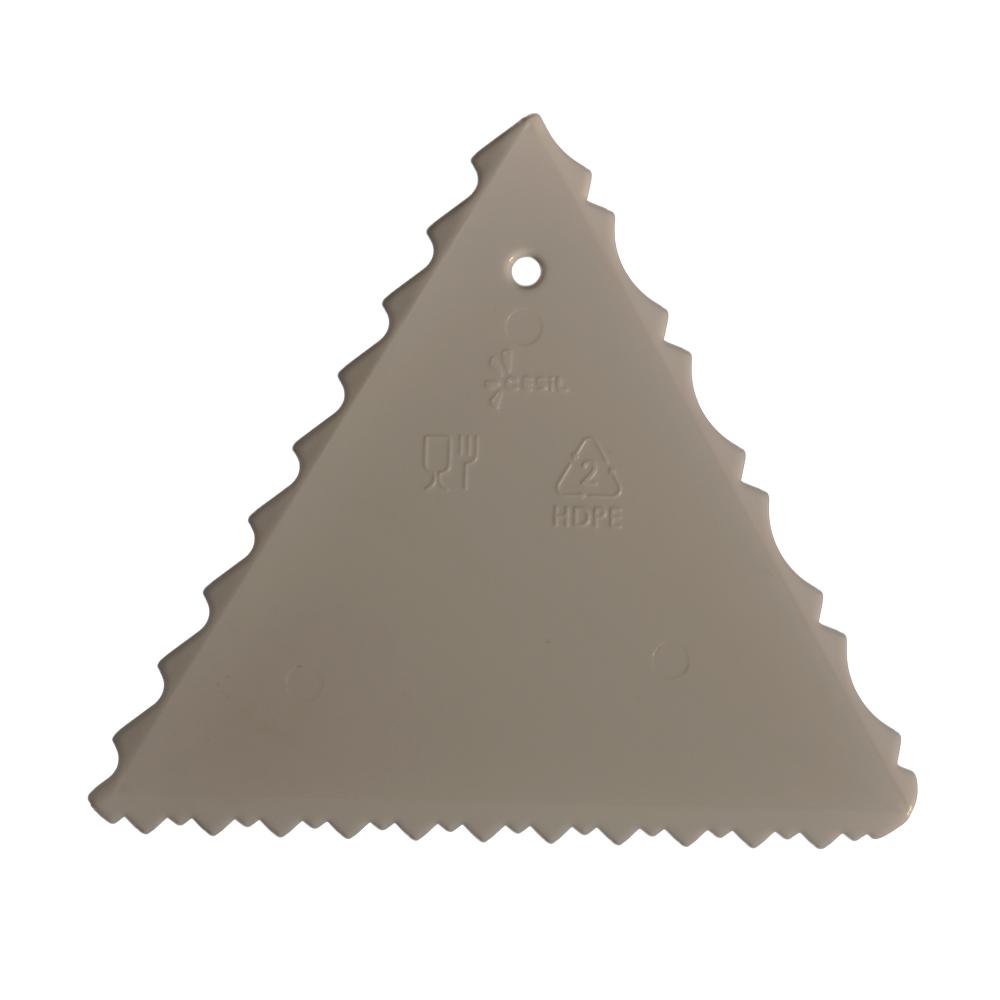 Spatula de plastic Triunghiul  Comb 58007 CSL