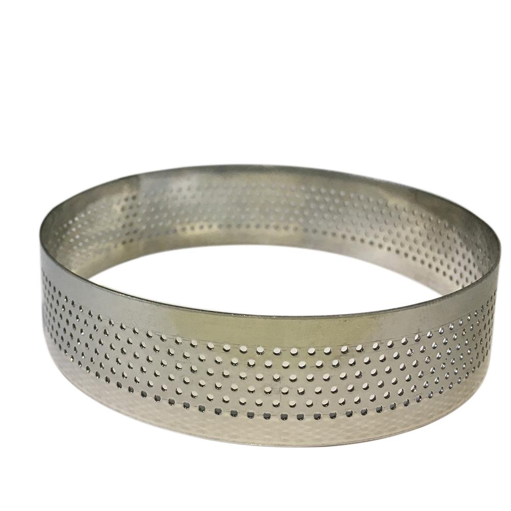 Forma din inox perforata cerc D12 CM  51267  CSL
