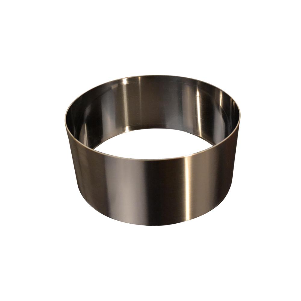 Forma din inox rotunda H7 28cm 51061 CSL
