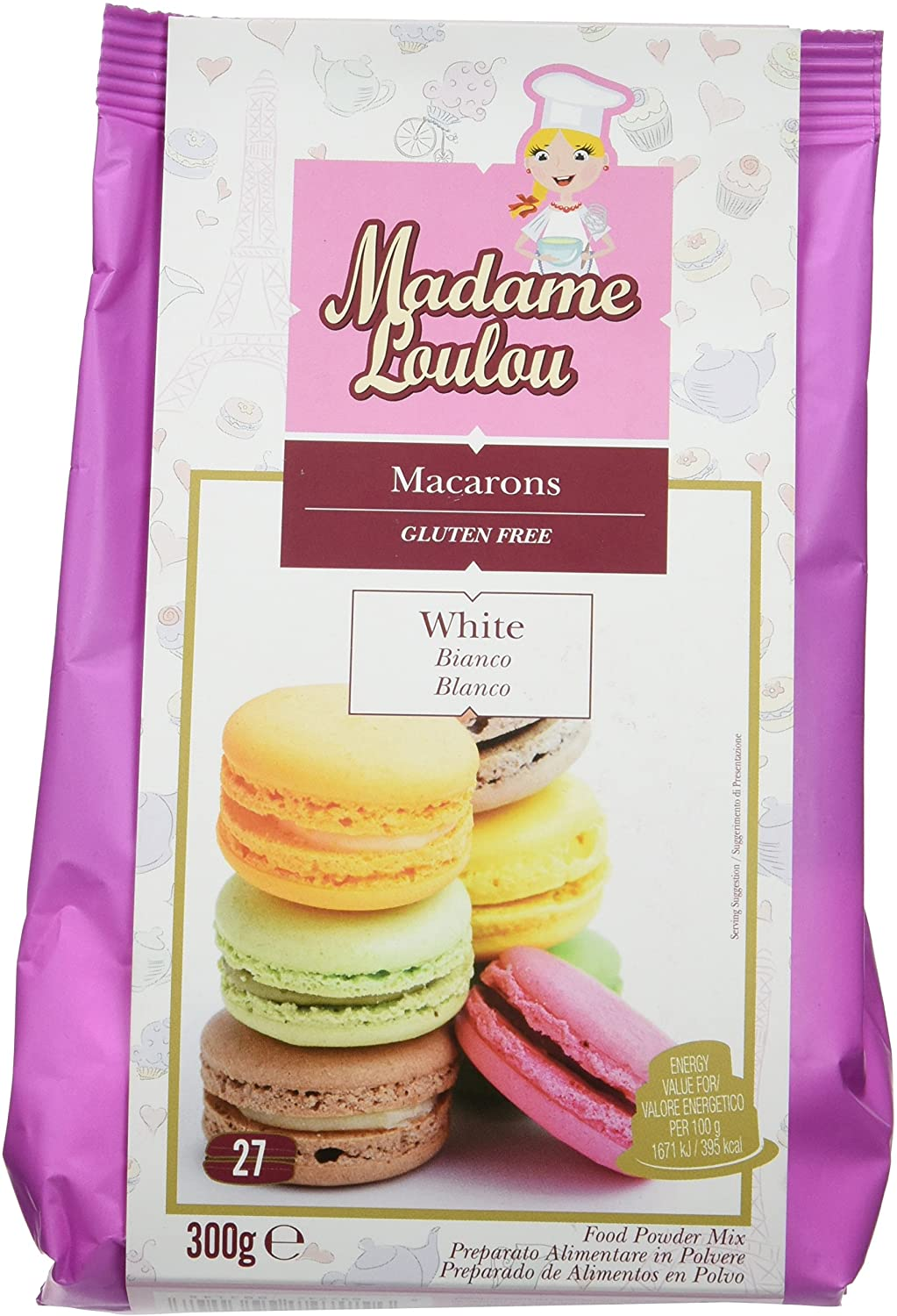 MIX MACARONS CULOARE VIOLET ML5160-6 300G MADAM