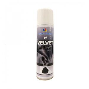 Colorant spray alimentar 250ml VELVET Neagru  V50 FC