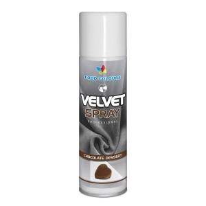 Colorant spray alimentar 250ml VELVET Ciocolata V35 FC