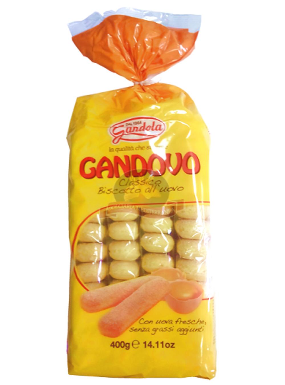 Gandovo pișcoturi cu ou 400g  822 GLA