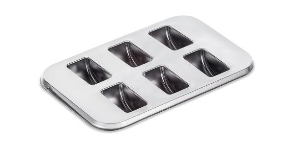 Cutie pentru macarons 6 buc (argintiu)  fara capac 023109060 023/6/B ACS