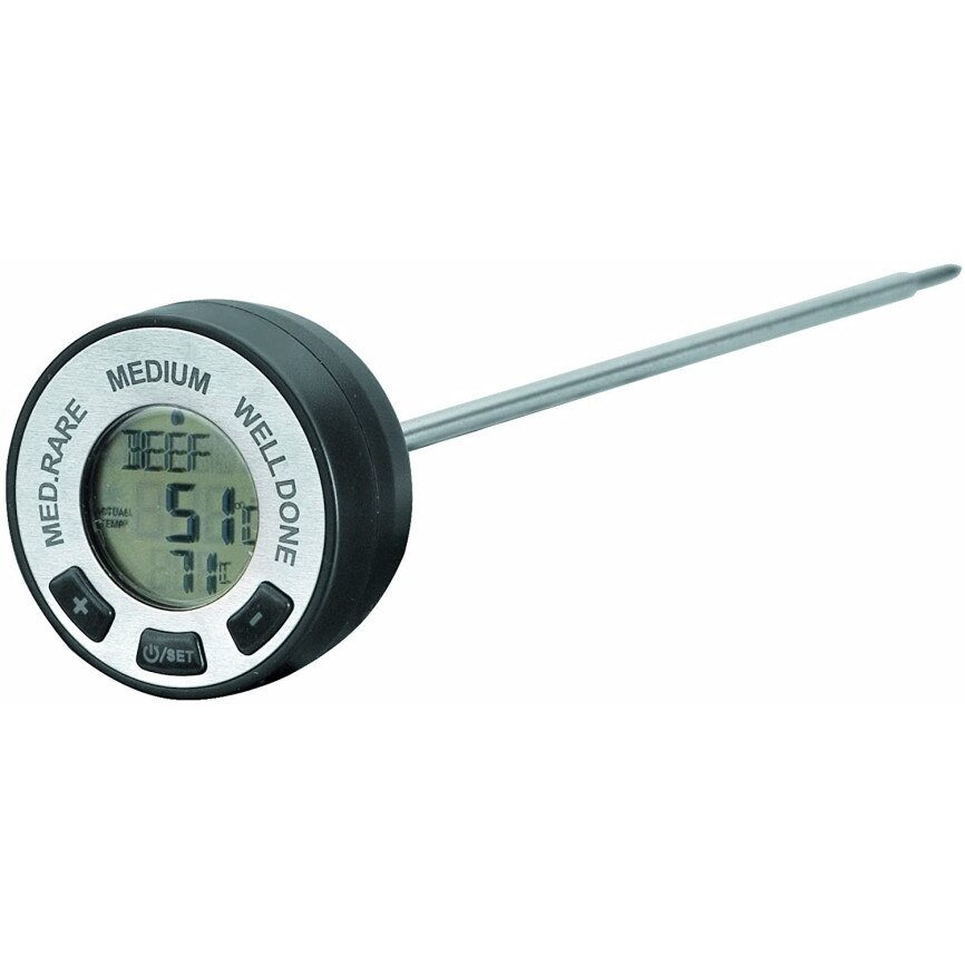 Termometru de bucatarie digital cu alarma 5x23 cm 62487_LAC