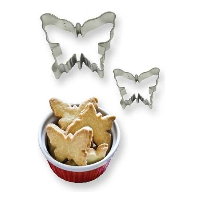 Forma din inox pentru icing SC612-fluture set 2 buc