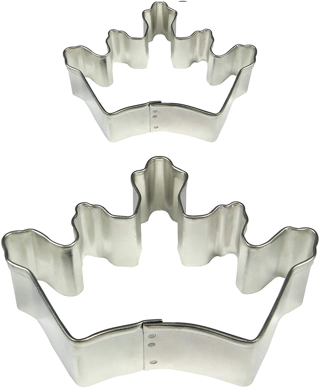 Forma din inox pentru icing SC617-coroana set 2 buc
